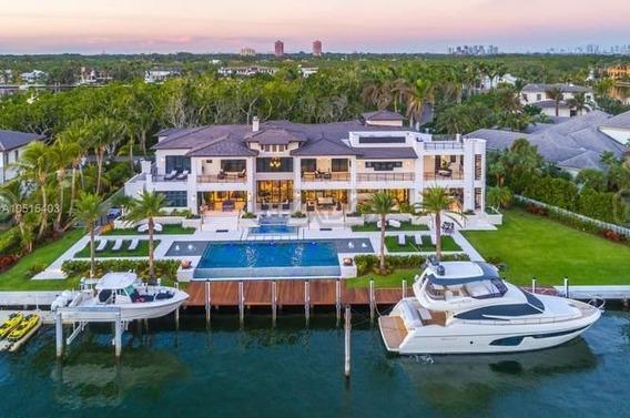 Casa Chalet En Venta Ubicado En Coral Gables, Miami