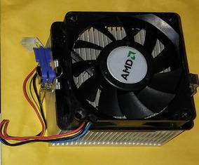 Cooler Amd Soquetes Am, Amd2, Amd2+ E Amd3 Verificar Placa.