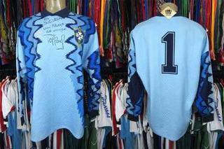 Brasil 1991 Camisa De Goleiro Tamanho Gg Número 1.