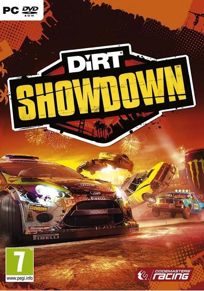 Jogo Dirt Showdown Pc Original Lacrado
