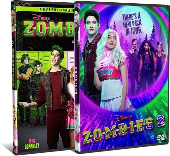 Dvd Filme Zombies Disney 1 E 2 Dual Áudio