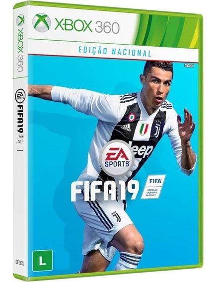 Fifa19 Xbox360 Original Midia Fisica Novo Português Barato