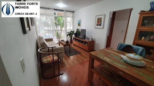 Lindo Apartamento Com 2 Dormitórios, 60 Metros No Tatuapé - 1826