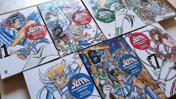 Cavaleiros Do Zodiaco - Kanzenban - Volumes 1 Ao 7 Raridade