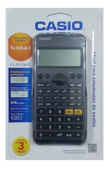 Calculadora Original Científica Fx-82lax Casio Classwiz