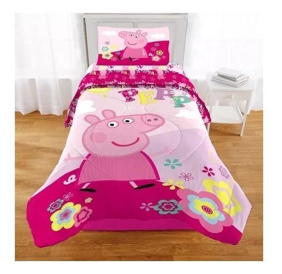 Edredon Nordico Peppa Pig.Cobertor Peppa Pig En Mercado Libre Mexico