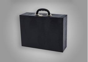 Estojo/maleta Para Jóias Grande Misto Triplo