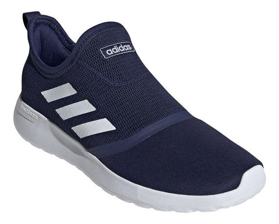 Tenis adidas Hombre Azul Lite Racer Slipon F36664