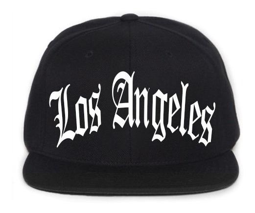 Boné Bordado - Los Angeles Gangsta Rap Hiphop Trap Thug