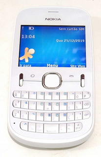 Celular Nokia Asha 201 Seminovo Só Vivo Ler Descrição
