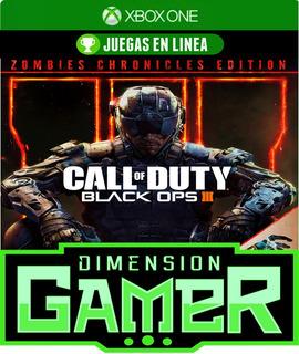 Call Of Duty Black Ops 3 E Zombies Xbox One N Codigo
