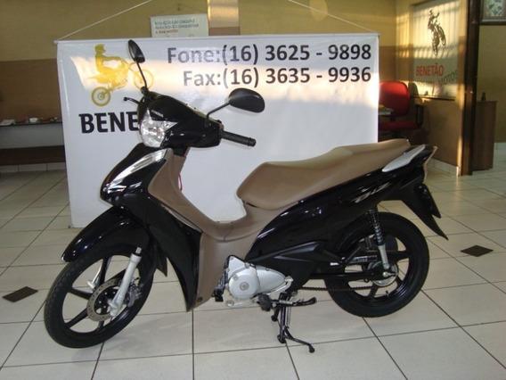Honda Biz 125 Ex Preto 2018