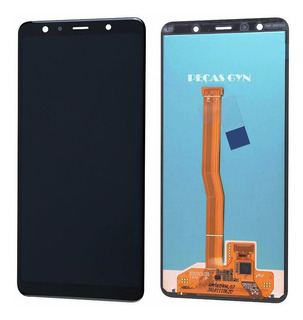 Tela Touch A7 2018 A750 Frontal Display Lcd Original + Cola