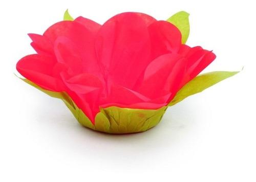 40 Forminhas Doce Roses Com Folhas Goiaba  Dec. Festas