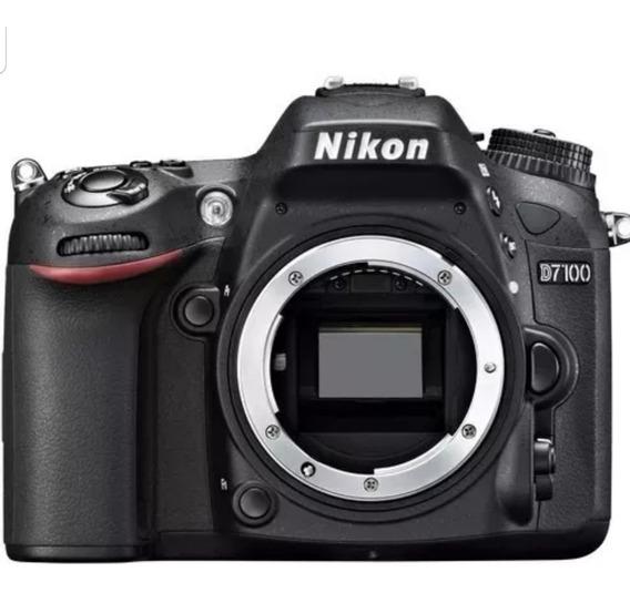 Câmera Nikon Dslr D7100(corpo)nova Com Garantia