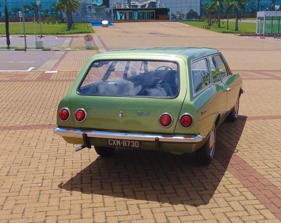 Caravan 4cc, 1976, Verde Ouro, Placa Preta - Colecionador