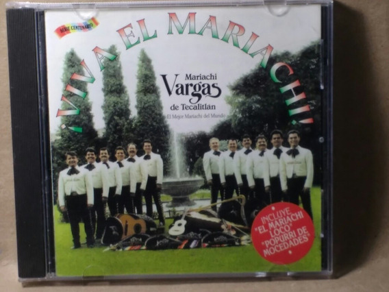 Cd Mariachi Vargas De Tecalitlan El Mejor Mariachi Del Mundo