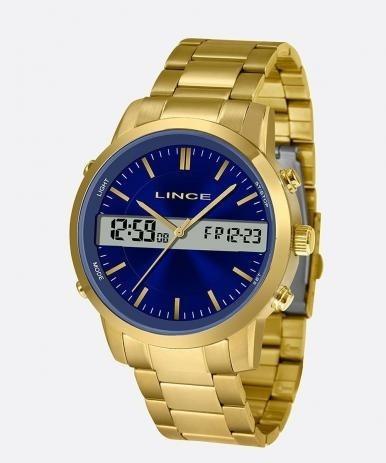 Relógio Lince Masculino Análago E Digital Mag4489s D1kx