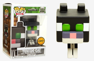 Funko Pop Chase Limited Edition - Minecraft - Tuxedo Cat