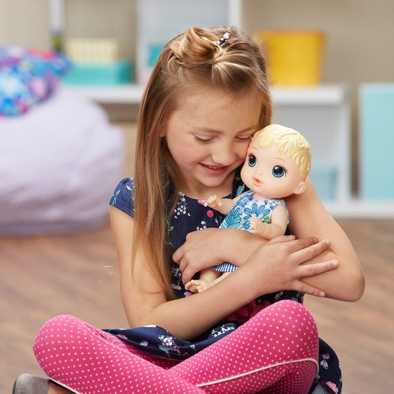 Brinquedos Para Meninas Baby Alive Hora Do Xixi Loira Hasbro