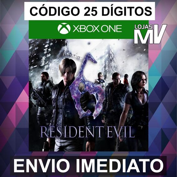 Resident Evil 6 - Codigo De 25 Digitos Xbox One