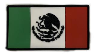 Parche Pvc 3d Bandera Mexico Color Casco Chamarra Gorra