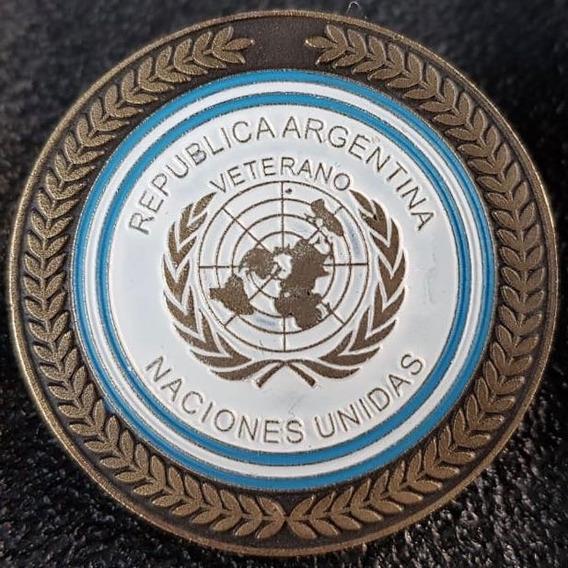 Pin De Naciones Unidas Veterano