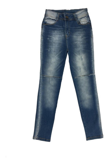 Calça Jeans Skinny Feminina Azul Jezzian