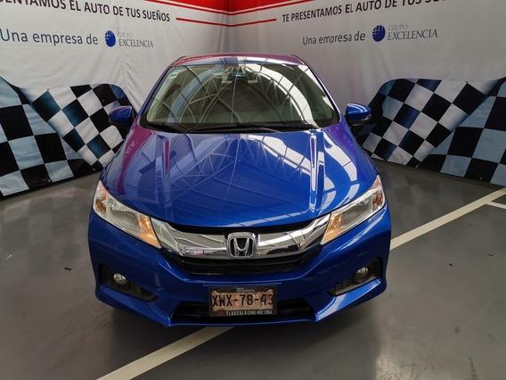 Honda City Ex Cvt Azul Sport 1.5