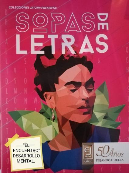 Sopas De Letra/ Paquete 1 Con 10 + 1/ Letra Grande.