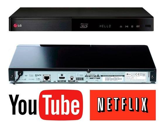 LG Bp440 Smart Blu-ray Player 3d Youtube Netflix