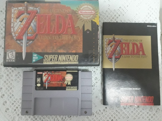 The Legend Of Zelda A Link To The Past Original