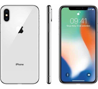 Celular iPhone X 64 Gb Semi-novo Usado