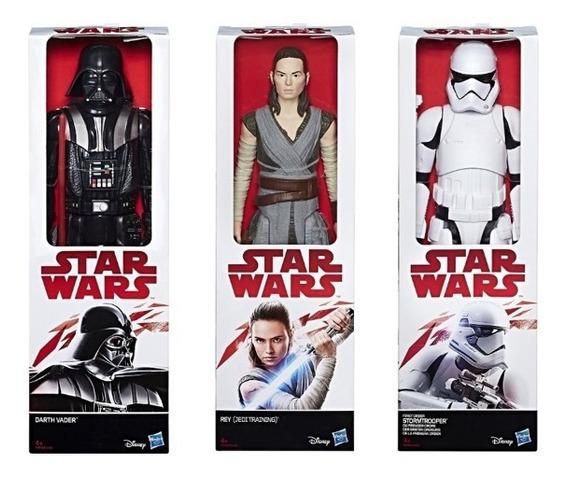 Coleção 3 Bonecos Star Wars The Force Awakens 30cm - Hasbro