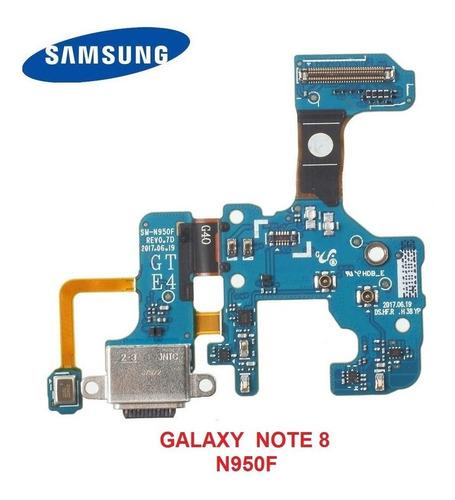 Flex Tarjeta Carga Microfono Samsung Note 8