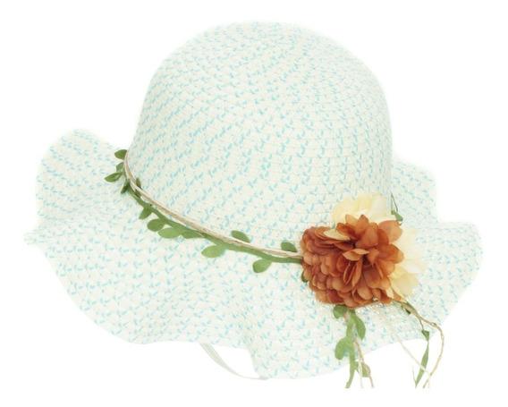 Sombrero De Playa Sol Para Niña Flexible Spn 223-003
