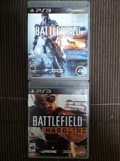 Lote De 2 Juegos Battlefield Ps3