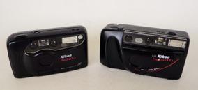 Lote Com Duas Câmeras Nikon (automáticas/analógicas)