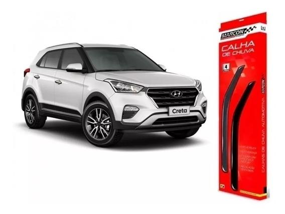 Calha De Chuva Hyundai Creta Todos Os Anos - Marçon