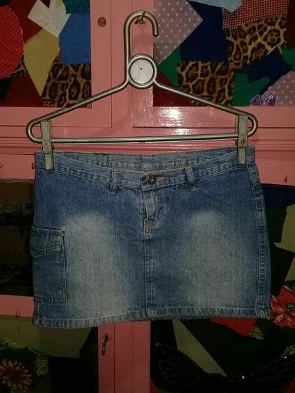 Mini Saia Jeans