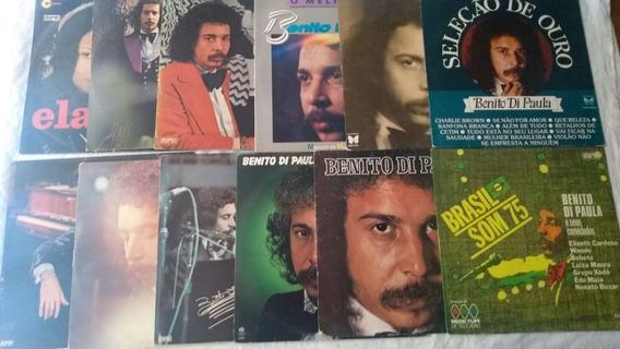 Lp Vinil - Benito Di Paula Lote Com 12 Discos Conforme Foto