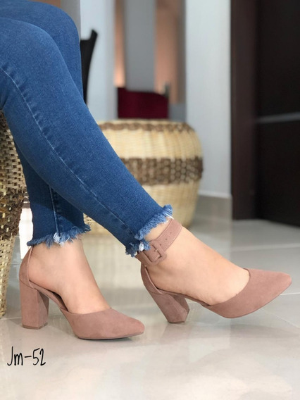Zapatos Zandalias Tacon Dama Mujer Colombianos Nuevos