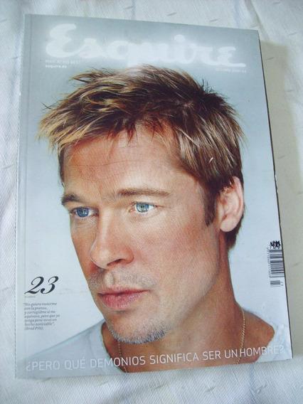 Esquire Nº 23 - Brad Pitt - Tarantino - Ricardo Darin