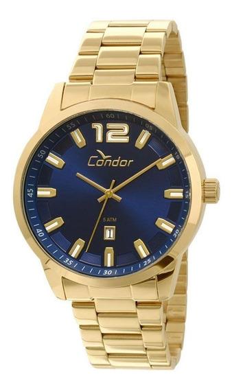 Relógio Masculino Technos Dourado Analógico Co2115uf/4a