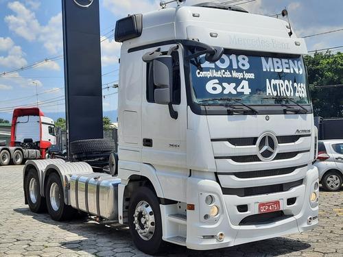 Mb Actros 2651 Cav 6x4 2018 Leito Ta Completo Megaspace Aut
