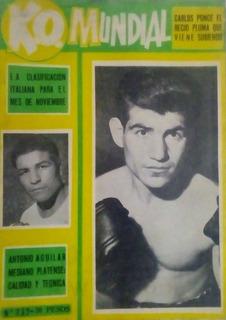 Revista Ko Mundial N°732.carlos Ponce,antonio Aguilar