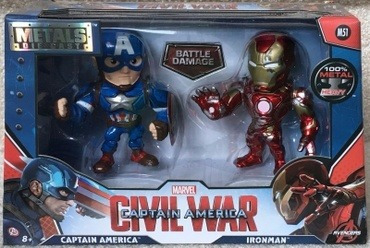 Figura Metals Marvel 11 Cm Pack X2 (84280) - Die Cast