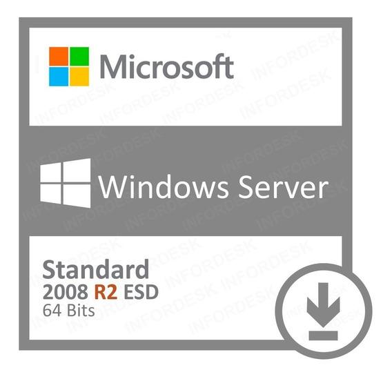 Licença Windows Server 2008 R2 Standard + Nf