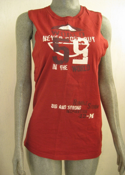 Camiseta Estampada Talla Ch Marca Tops & Bottom