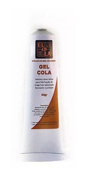 2 Gel Cola 60g + 1 Nano Extension Preta+1 Papel Antiaderente